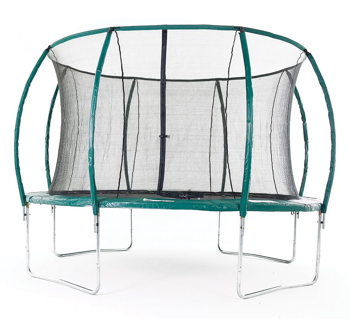 12ft Skyhigh Orbisphere Trampoline With Enclosure