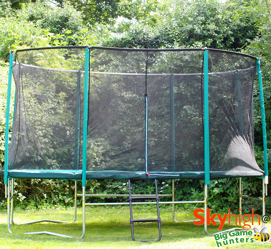 8ft X 14ft Skyhigh Oval Trampoline Package