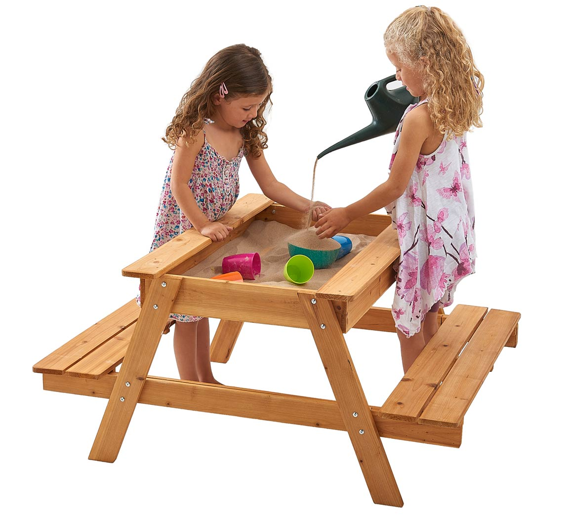 Terrific Picnic Table Sandpit Garden Games Picnic Table Sandpit Pabps2019 Chair Design Images Pabps2019Com
