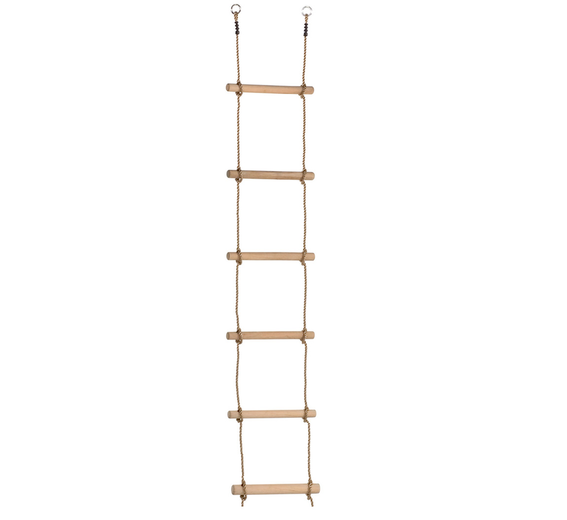 Rope Ladder Wooden Tree House Ladder Big Game Hunters