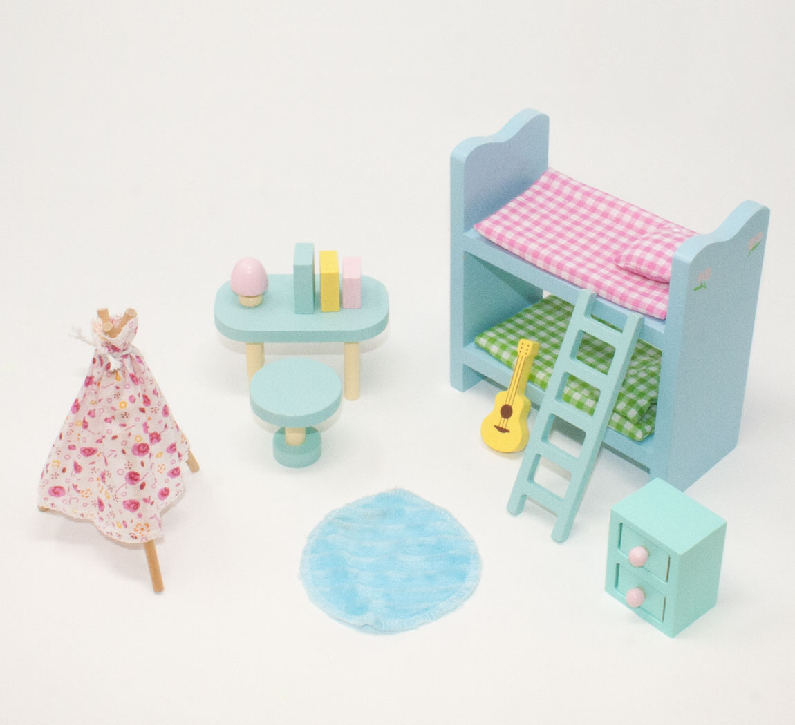 5 Sets of Sweetbee Dolls House Furniture