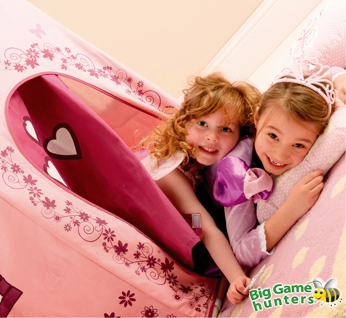 sc 1 st  Big Game Hunters & Princess Fairy Castle Play Tent with Pink Cotton Canvas
