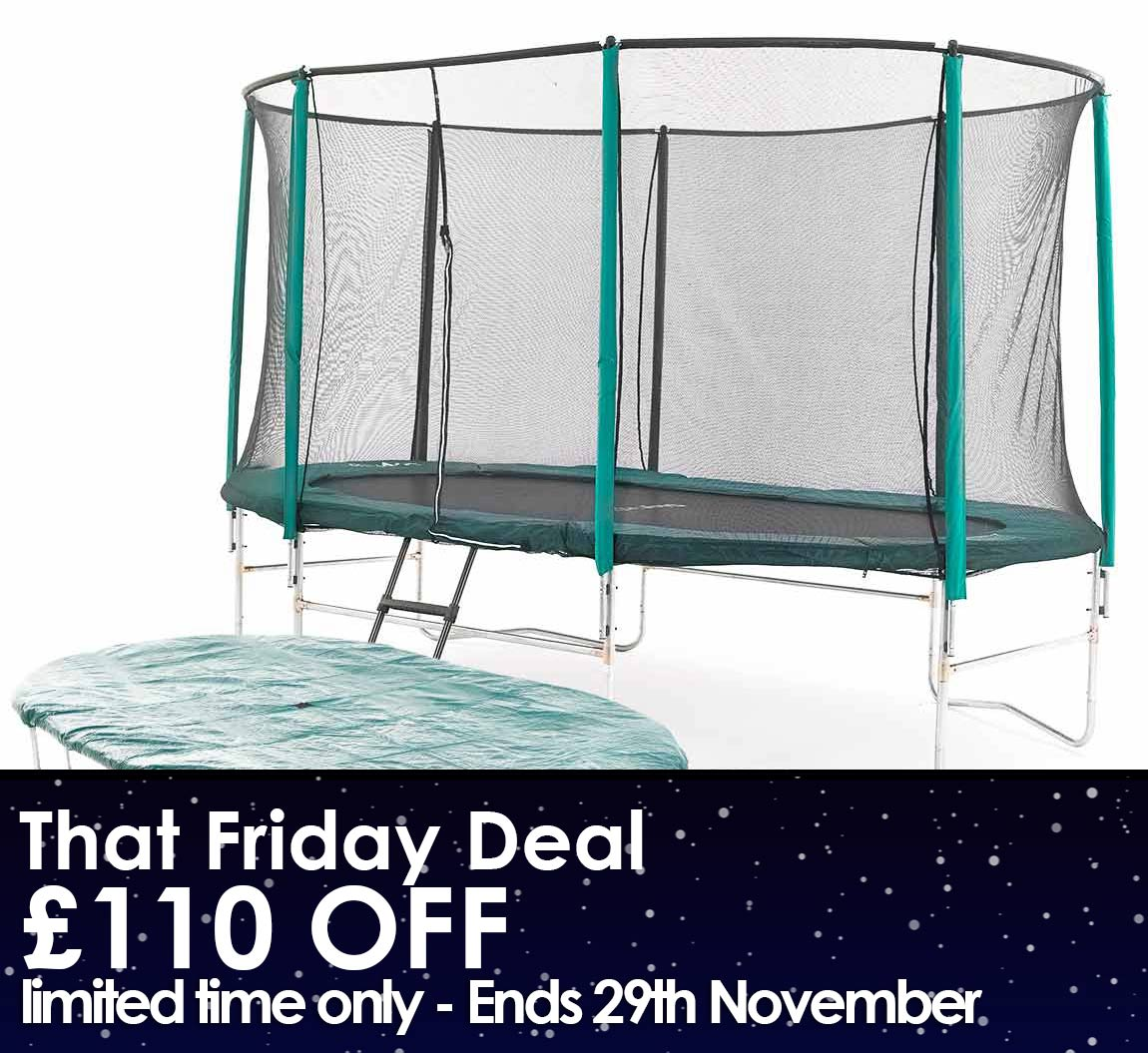 Oval Trampoline Package