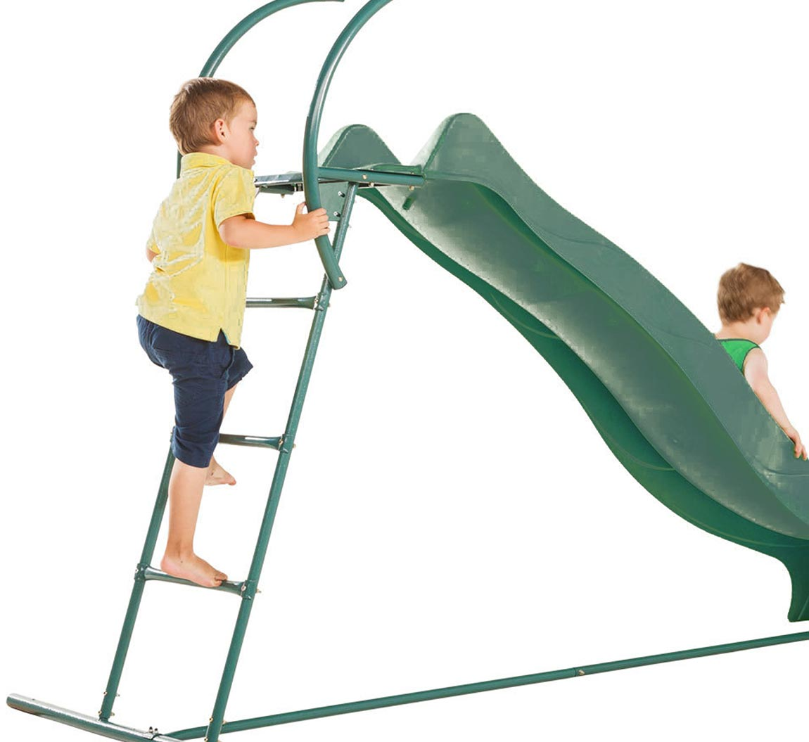 2.3m Garden Slide with Steps